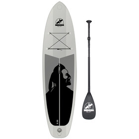Indiana SUP 10'6 Family Deska with 3-Piece Fibre/Composite Paddle szary
